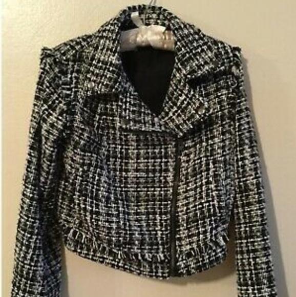 a new day Jackets & Blazers - New Tweed Jacket XS